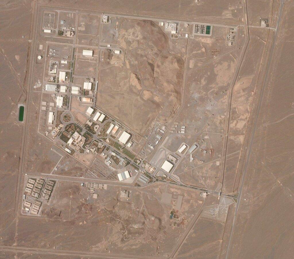 Irán reportan accidente en central nuclear