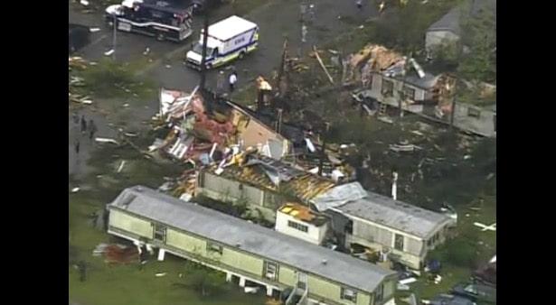 Diez años de los peores tornados que sufrió Carolina del Norte; con 24 muertos