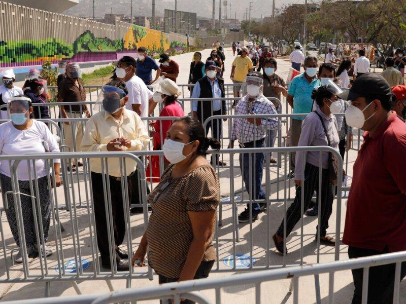 Perú primera vuelta de presidenciales en fotos