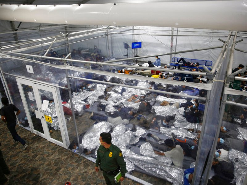 Hay 1,000 % más menores inmigrantes en custodia de HHS que hace seis meses