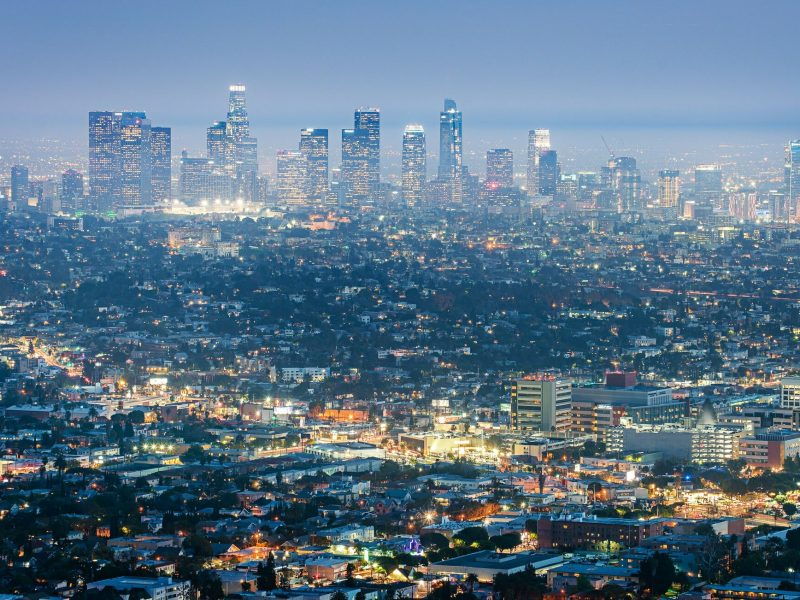 Los Ángeles temblor