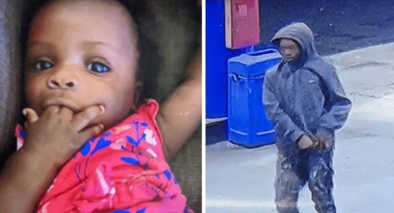 Secuestro menor 15 años a niña de 5 meses