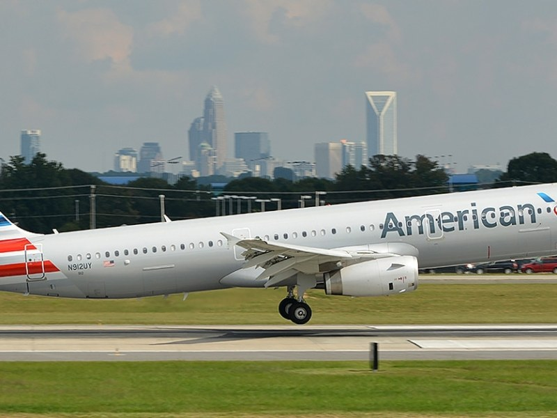 vuelos afectados Charlotte