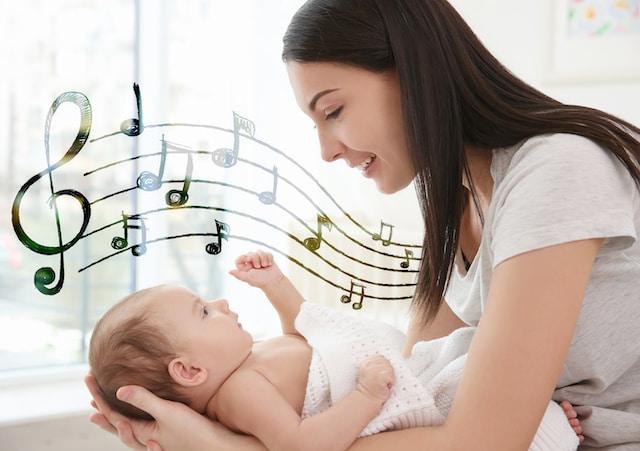 Beneficios de cantar canciones de cuna a los bebés