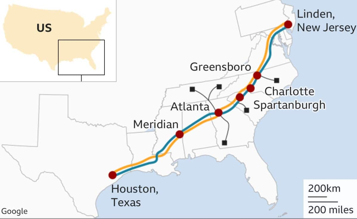 Colonial Pipeline ataque
