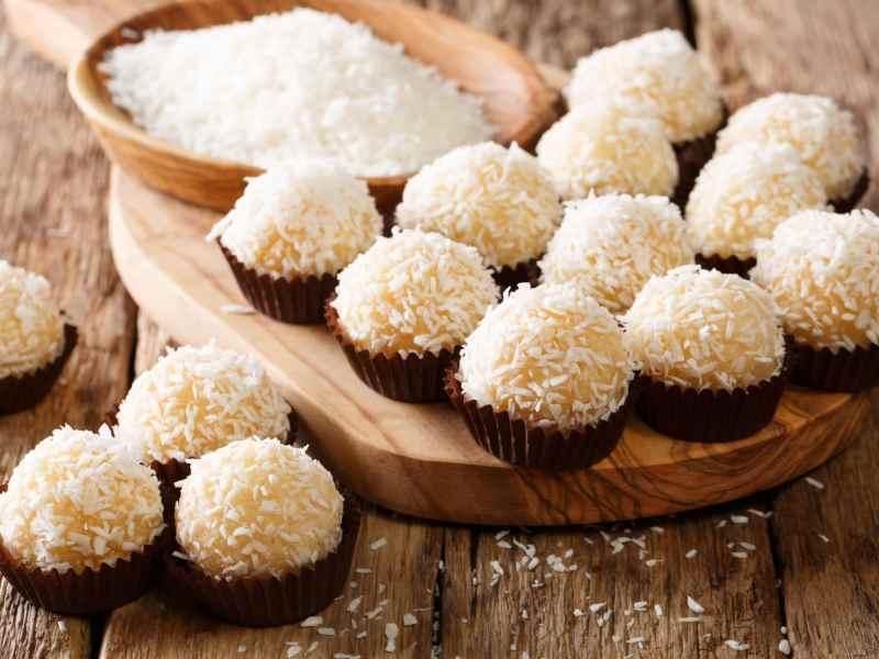 El brigadeiro es un dulce típico de Brasil
