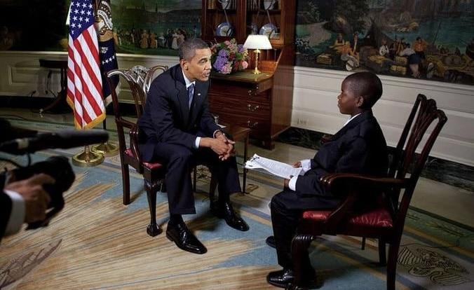 Muere Damon Weaver, el joven reportero que entrevistó a Obama