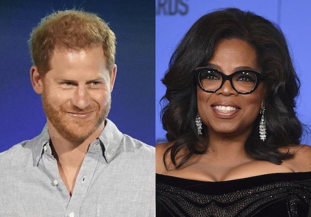 El Príncipe Harry y Oprah presentan ahora revelaciones de Lady Gaga y Glenn Close