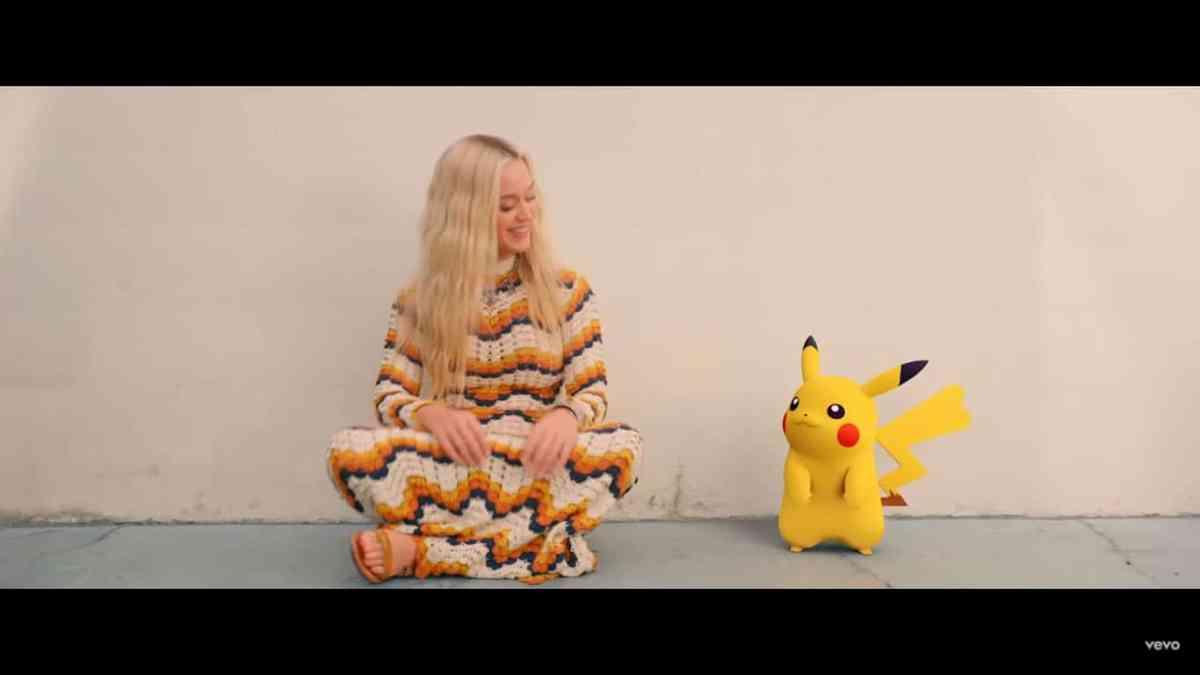 Katy Perry estrena tema aniversario de Pokémon, Pikachu está en el video