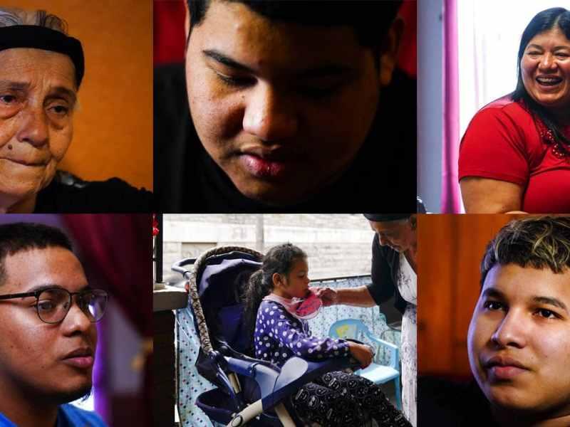 Los rostros de una familia reunificada en Filadelfia