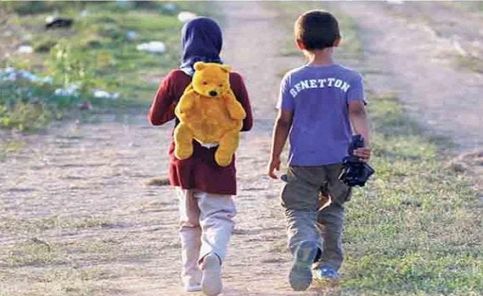 Niños que abandonan el hogar