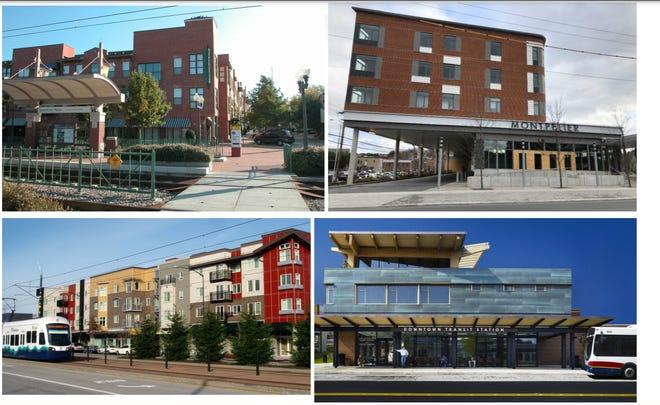 Quieren convertir a centro de transporte en conjunto de viviendas a bajo precio en Asheville
