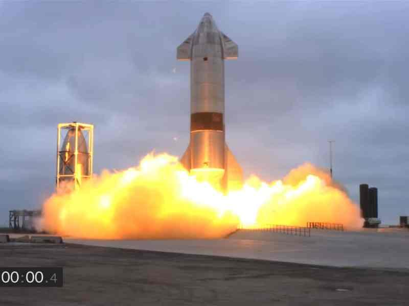 SpaceX: prototipo de nave espacial aterriza sin explotar