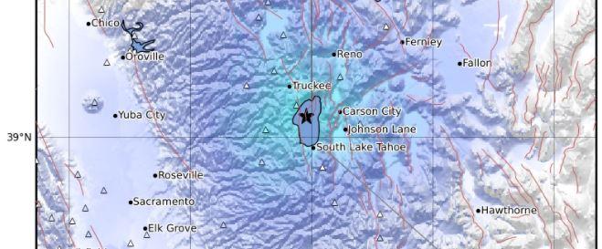 terremoto lake tahoe california