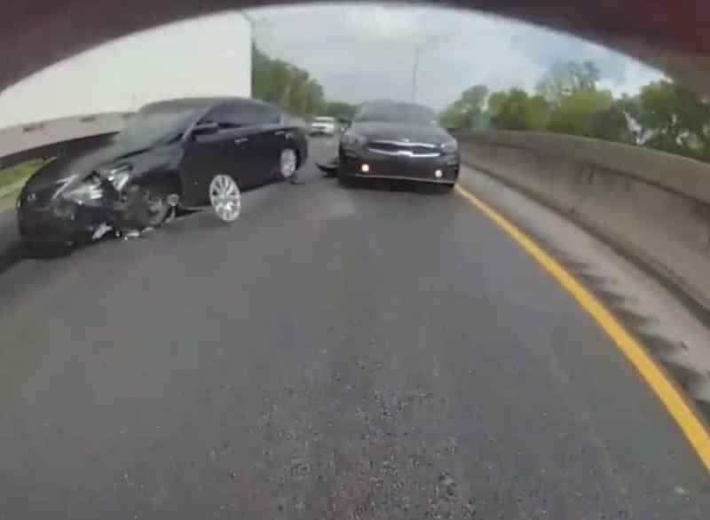 Tesla accidente video