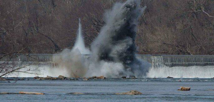 explosión pólvora starved rock