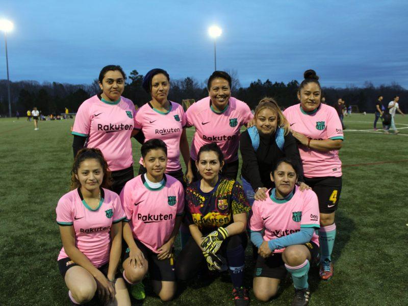 Barcelona de la Liga IASO Femenil
