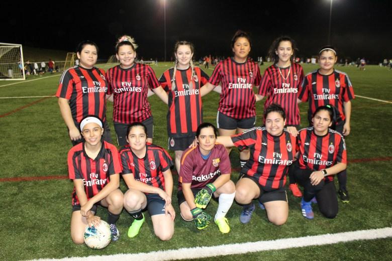 Real Barcelona de la Liga IASO Femenil