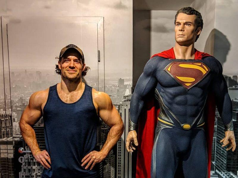 henry cavill tío superman