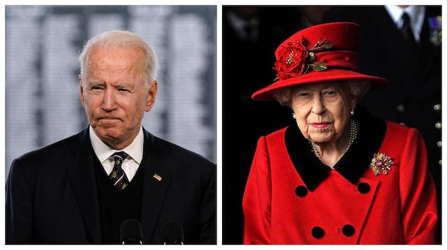 Biden se reunirá con la reina de Inglaterra en el Castillo de Windsor