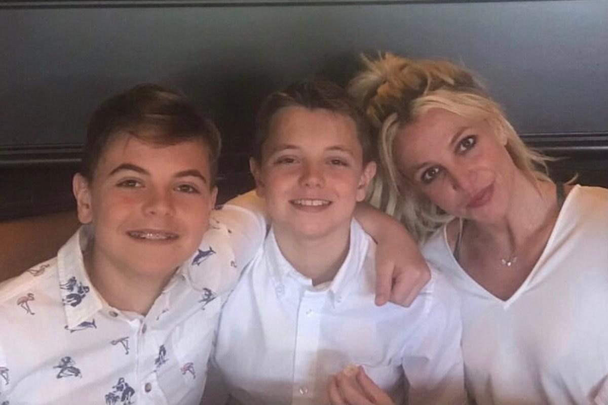 Los hijos de Britney Spears ya crecieron: ¿cómo lucen ahora?