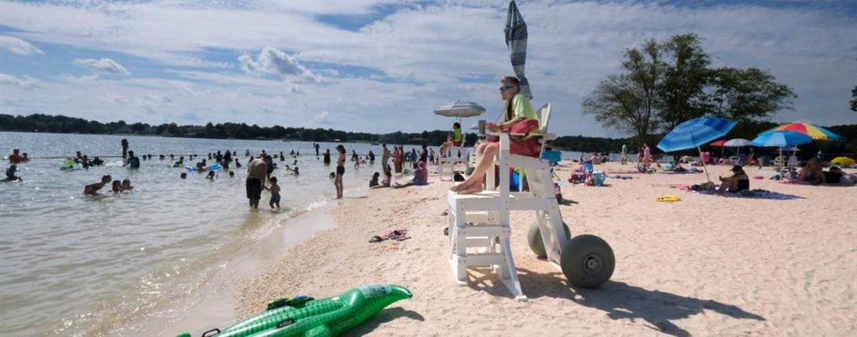 Cómo visitar la playa de Ramsey Creek gratis el 4 de julio