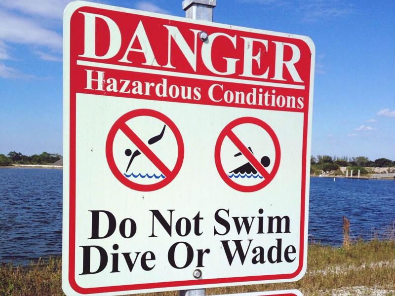 Colocan avisos en represa del río Dan donde murieron balseros