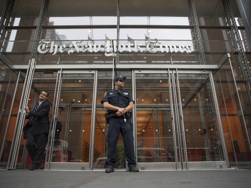 Departamento de Justicia no obtendrá registros de periodistas en secreto