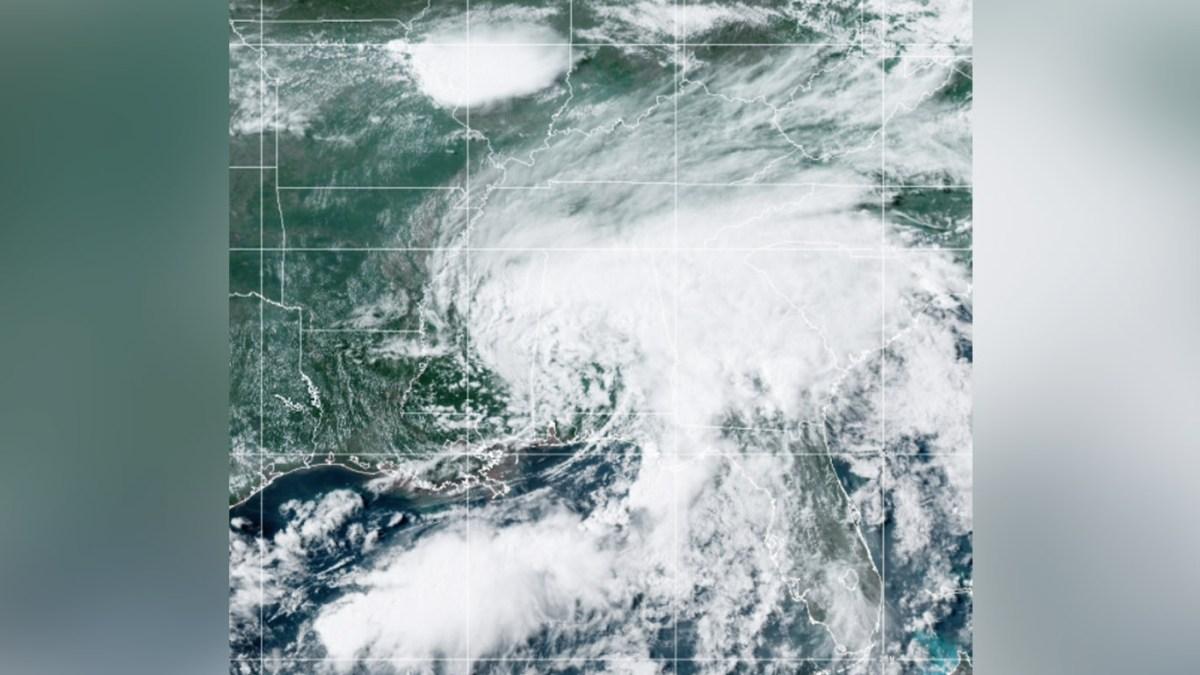 Depresión tropical Claudette va rumbo a las Carolinas