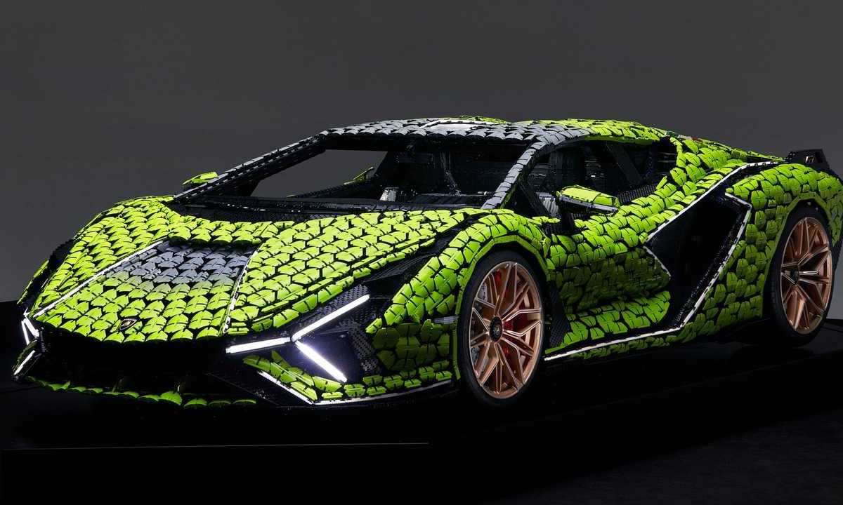 Lamborghini-tamaño-real-lego