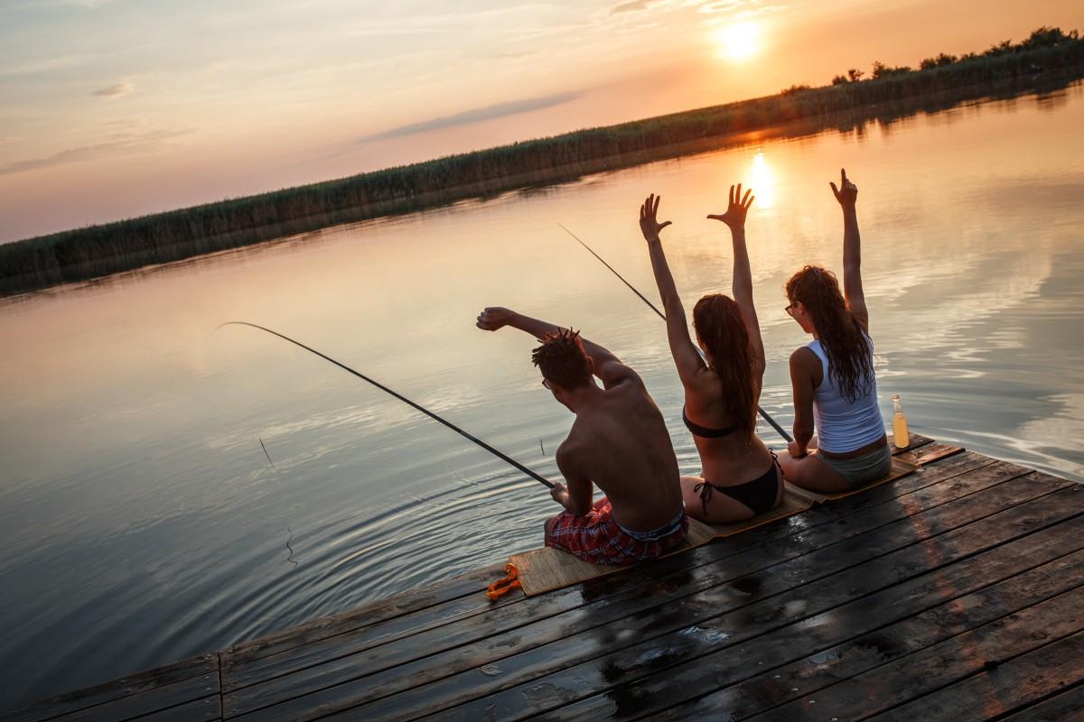 Los 3 mejores lugares para pescar en Raleigh
