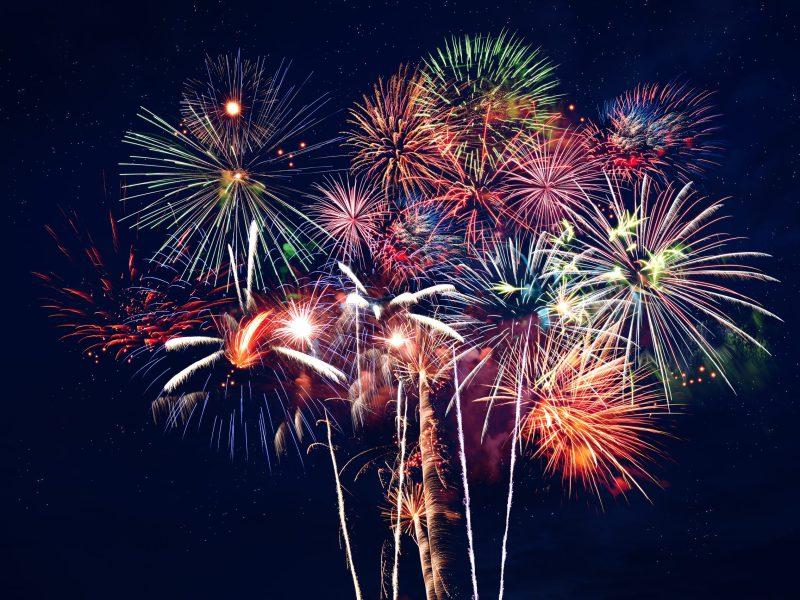 Fuegos artificiales regresan a Guilford para el Día de Independencia