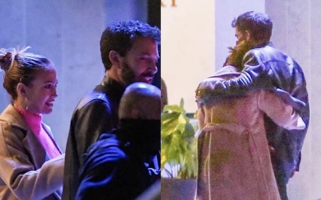 Jennifer López y Ben Affleck son captados en cena romántica