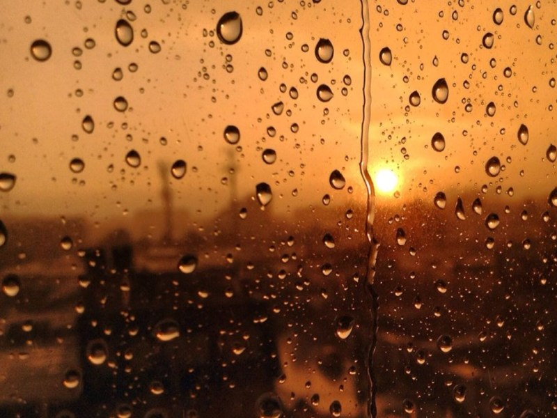 Calor lluvia Carolina del Norte
