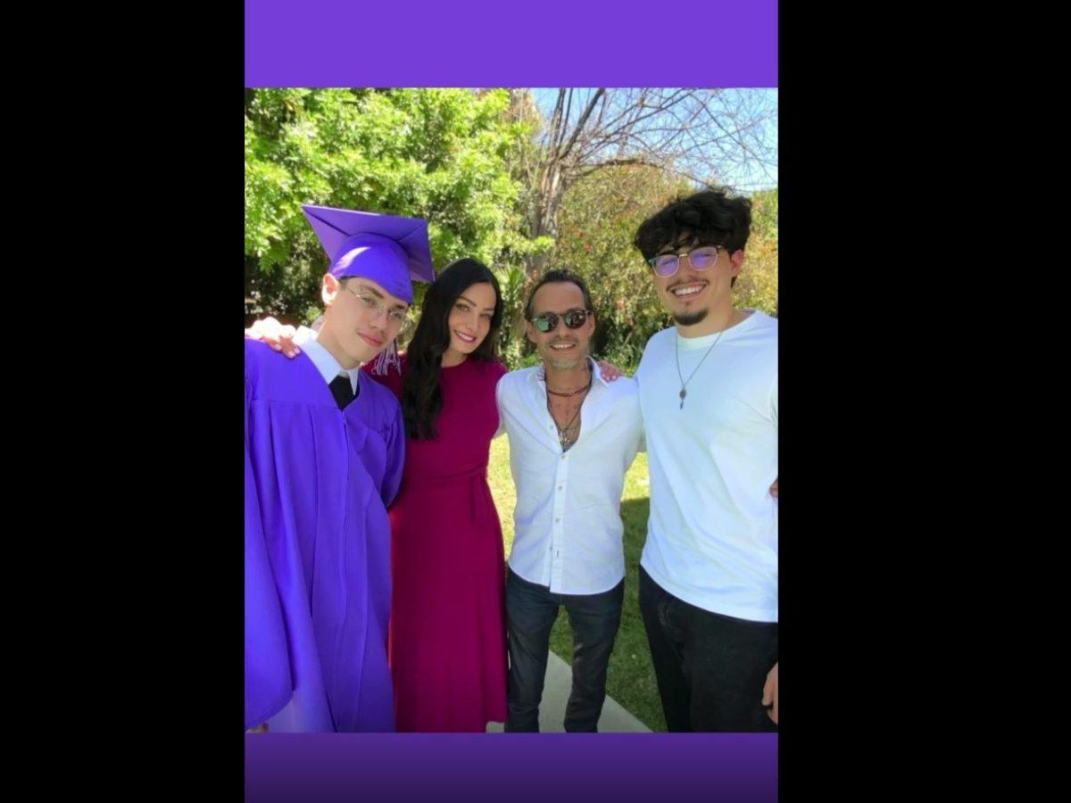 marc anthony graduación california
