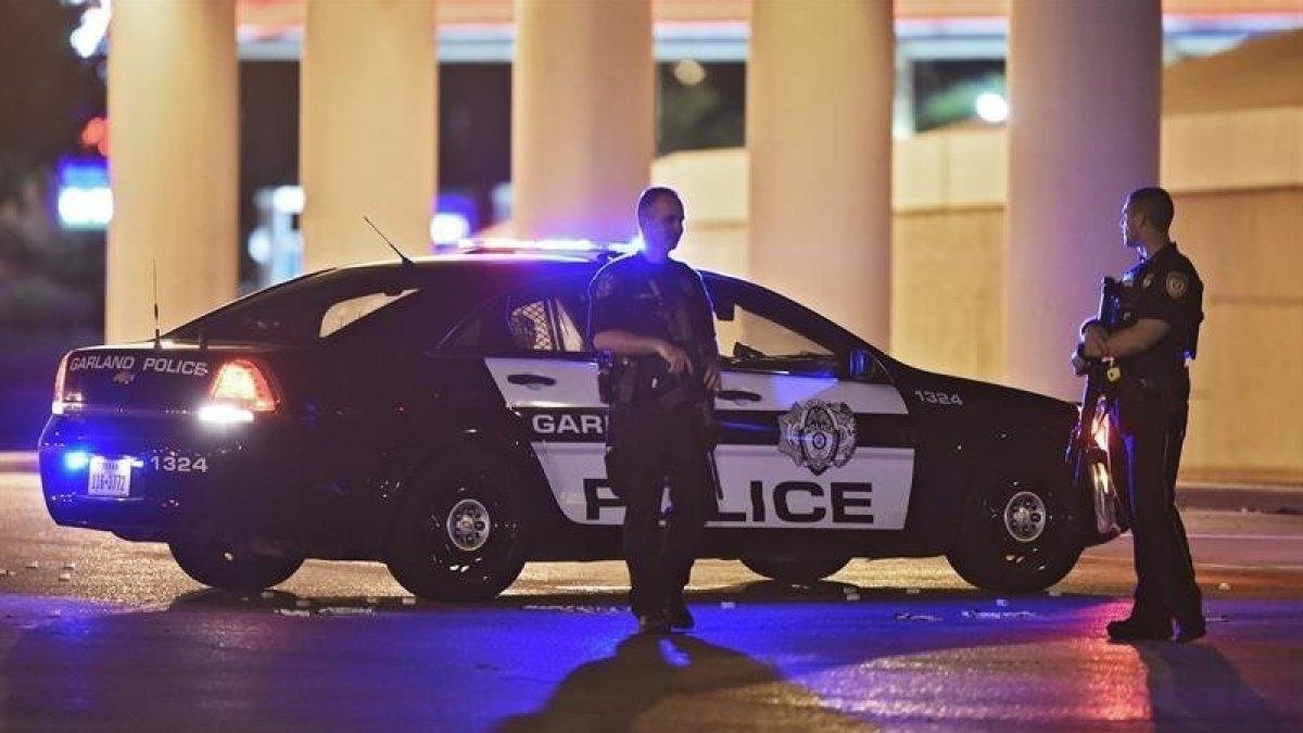 Accidente con policías