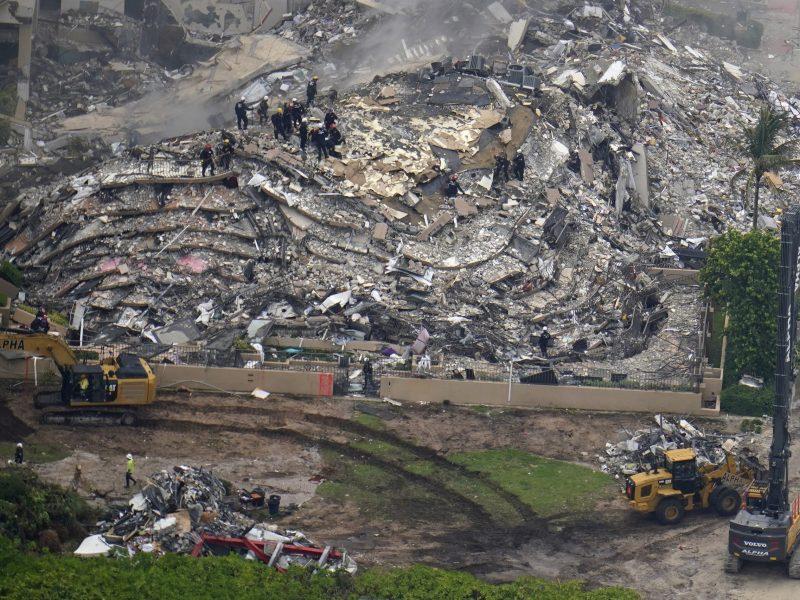 Identifican a tres niños más en edificio de Miami que colapsó
