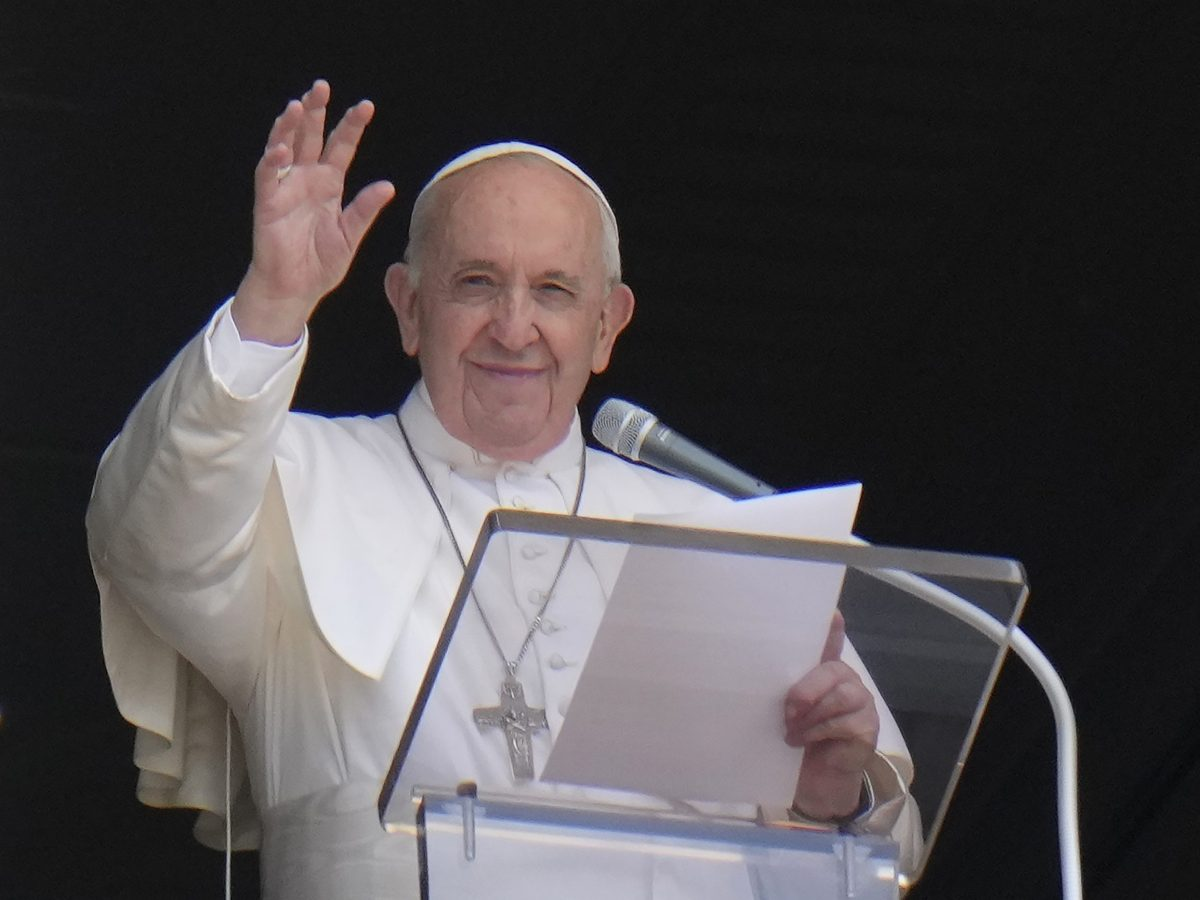 Papa Francisco, máximo jerarca de la Iglesia Católica