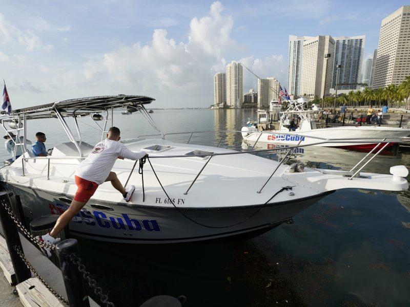 Flotilla de cubano_americanos