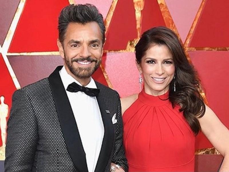 Eugenio Derbez cumple 9 años de casado con Alessandra Rosaldo.