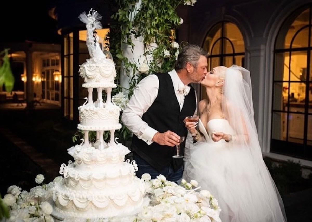 Gwen Stefani comparte tierna foto de sus hijos durante su boda