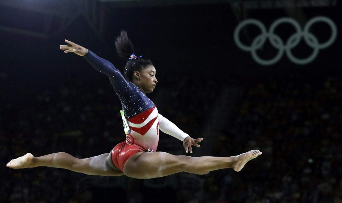 Simone-BIles-gimnasia-Villa Olímpica