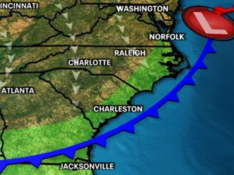 Lluvias Carolina del Norte