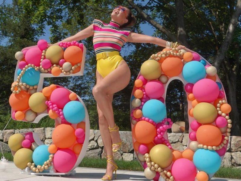 Thalía cumpleaños 50 fotos