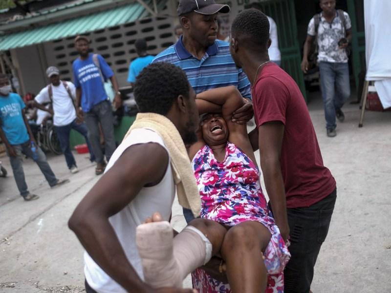 Haití muertos por sismo suben a 2,189