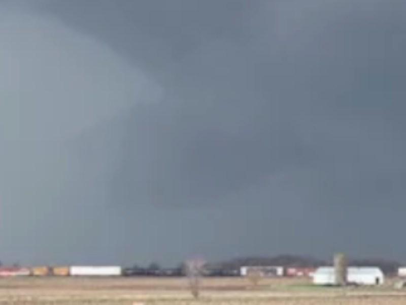 Tormenta Fred Tornado Carolina del Norte