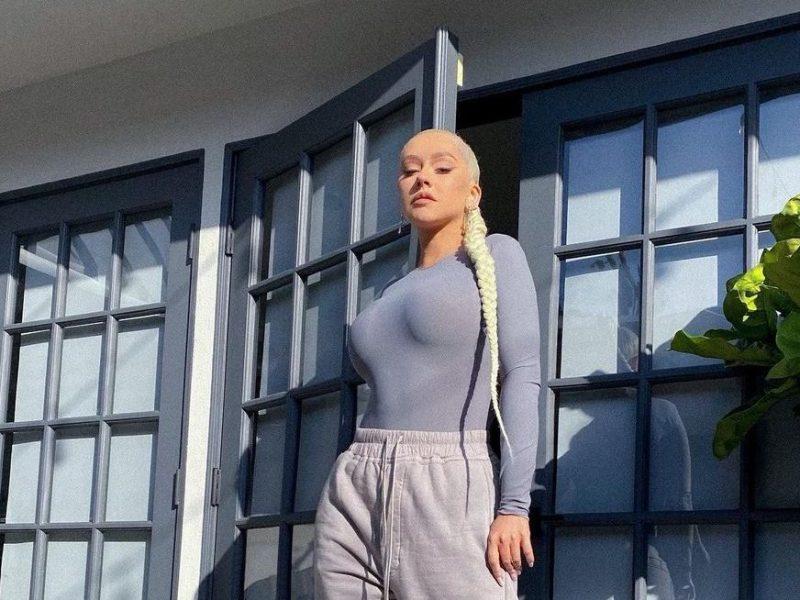 Christina aguilera desnuda instagram