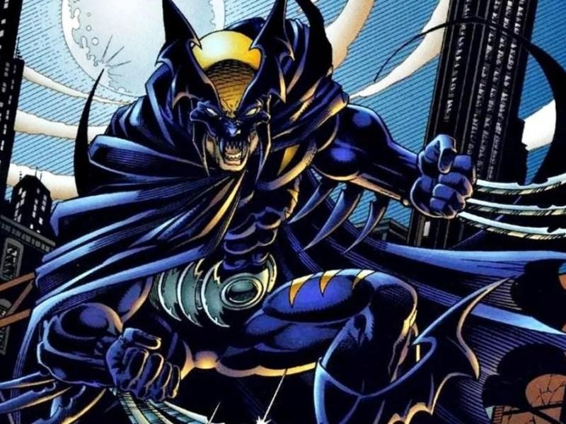 Dark Claw Amalgam Wolverine Batman