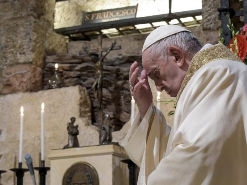 Estoy vivo Papa Francisco agradece enfermero