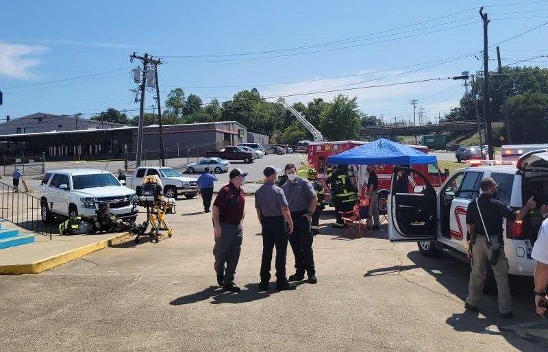 Explosión Hickory carolina norte